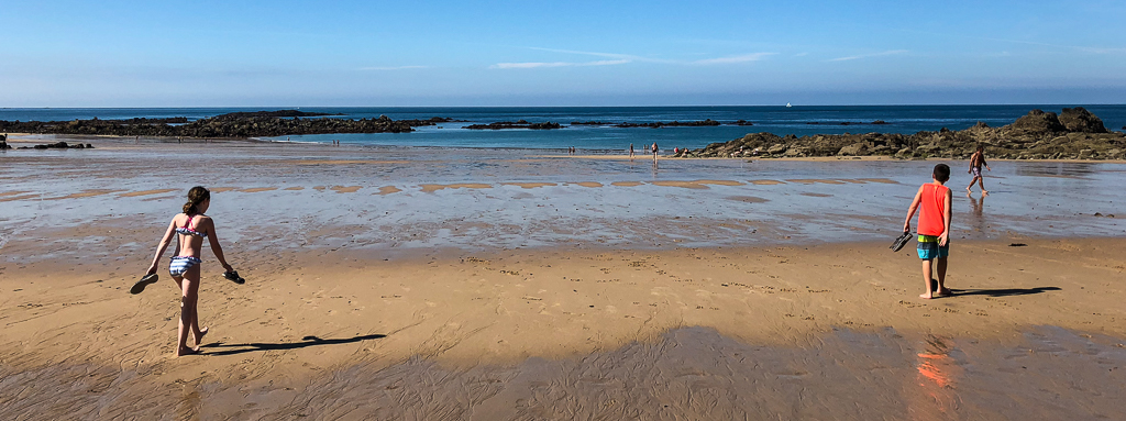 Battlefront and Beachcombing in Brittany, France